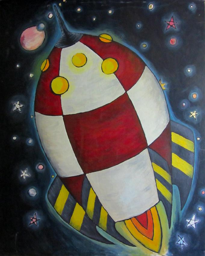 Cohete espacial IV