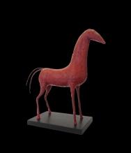 caballo rojo